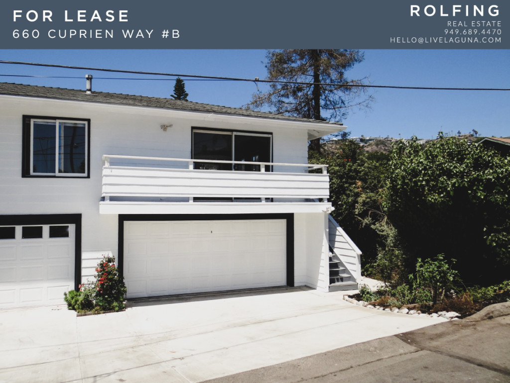 Laguna Beach Home For Lease Rolfing Real Estate
